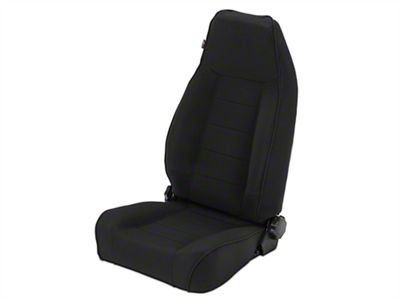 Rugged Ridge XHD Reclining Front Seat - Black Denim (97-06 Jeep Wrangler TJ)