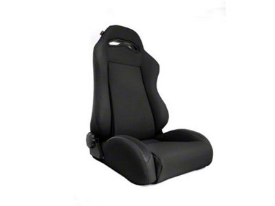 Rugged Ridge XHD Sierra Reclining Front Seat - Black Denim (97-06 Jeep Wrangler TJ)