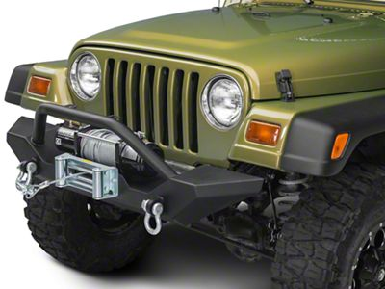Barricade Trail Force HD Front Bumper (87-06 Jeep Wrangler YJ & TJ)