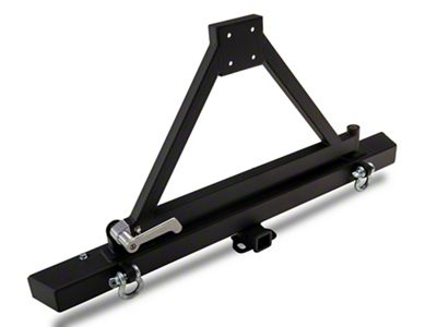 Barricade Classic Rear Bumper w/ Tire Carrier (87-06 Jeep Wrangler YJ & TJ)
