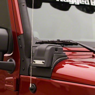 Rugged Ridge XHD Low Mount Snorkel (12-18 3.6L Jeep Wrangler JK)