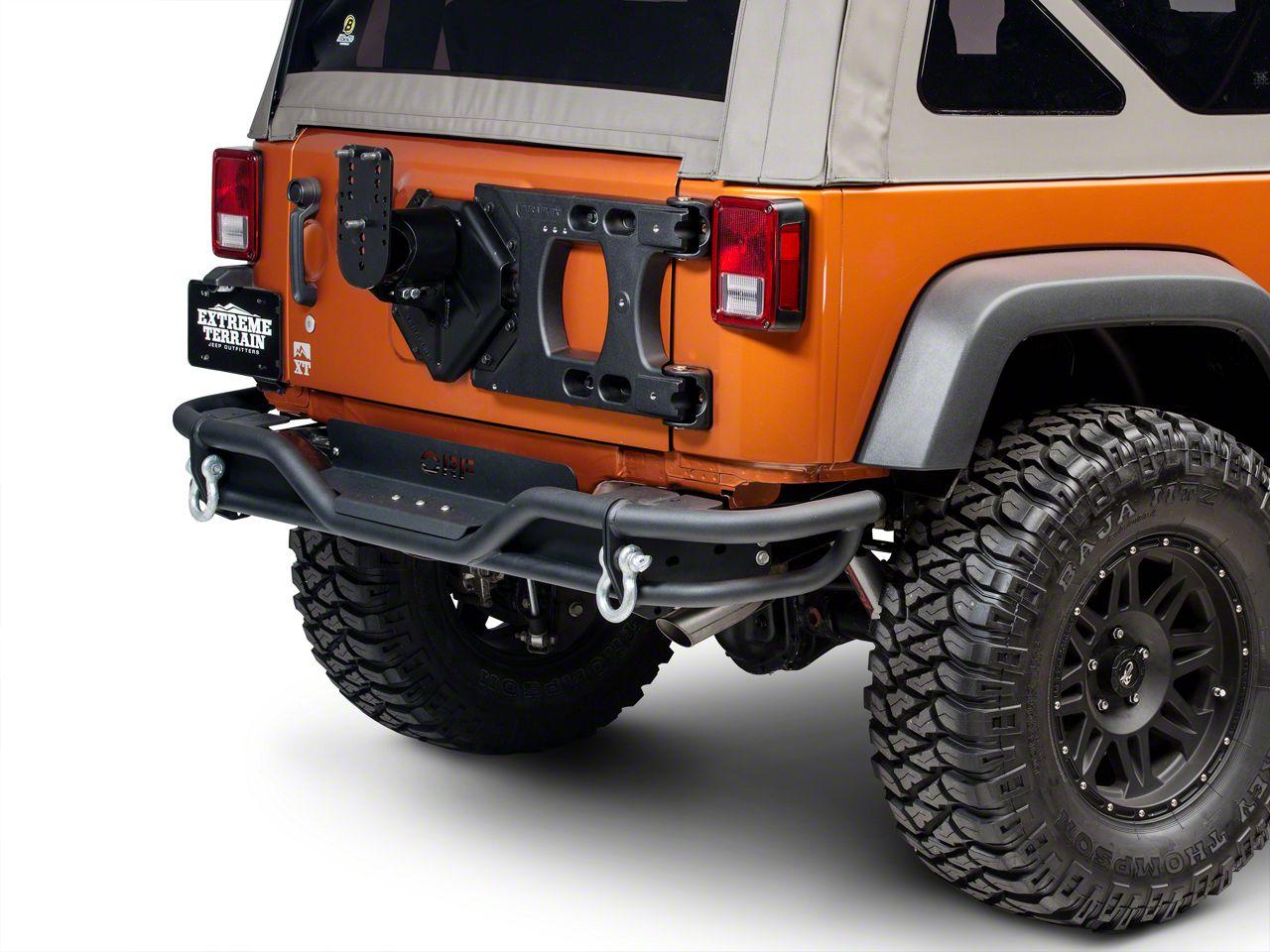 Teraflex HD Hinged Carrier w/ Adjustable Tire Mount (07-18 Wrangler JK)