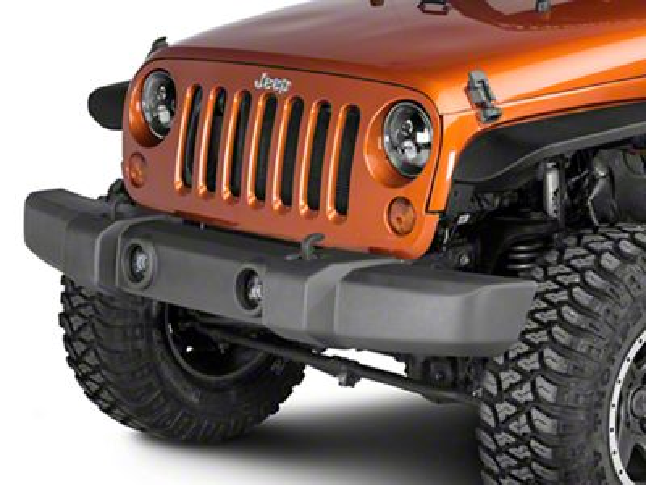 Omix-ADA Front Bumper Cover (07-18 Jeep Wrangler JK)