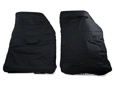 Rugged Ridge Rear Door Storage Bag Kit (07-18 Jeep Wrangler JK; 2018 Jeep Wrangler JL)