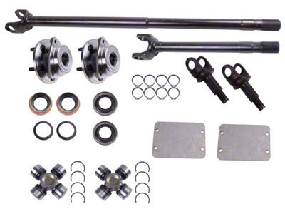 Alloy USA Front Grande 30 Axle Shaft Kit (87-95 Jeep Wrangler YJ)