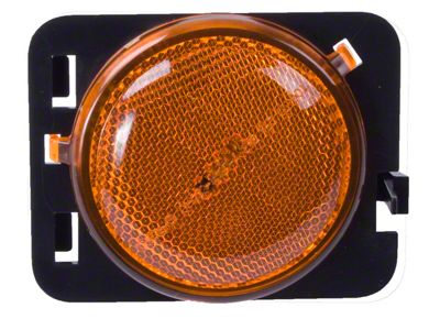 Omix-ADA Right Side Side Marker Light, Amber (07-13 Jeep Wrangler JK)