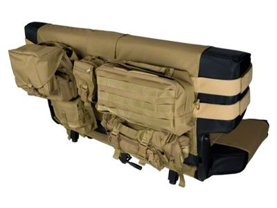 Rugged Ridge Rear Cargo Seat Cover - Tan (87-06 Jeep Wrangler YJ & TJ)
