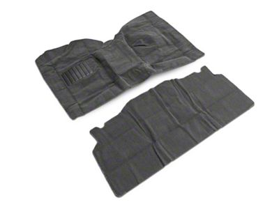 Rugged Ridge Deluxe Carpet Kit w/ Adhesive - Gray (87-95 Jeep Wrangler YJ)