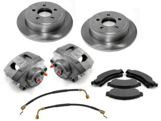 Omix-ADA Front Premium Disc Brake Service Kit (00-06 Jeep Wrangler TJ)
