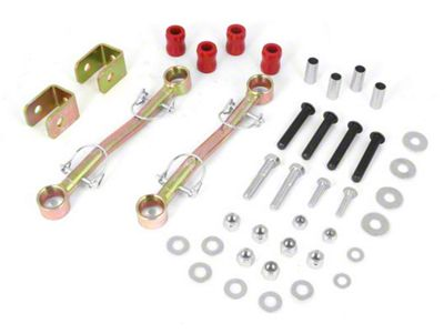Rugged Ridge Front Sway Bar End Links for 3.5-4 in. Lift (97-06 Jeep Wrangler TJ)