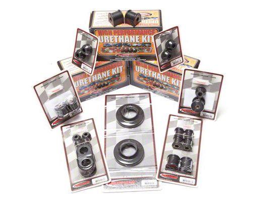 Rugged Ridge Polyurethane Bushing Kit - Black (97-06 Jeep Wrangler TJ)