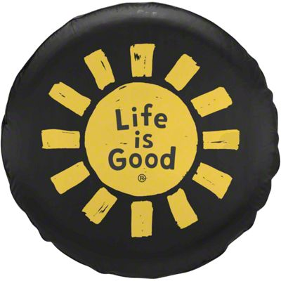 Life is Good Sun Lig Spare Tire Cover (87-18 Jeep Wrangler YJ, TJ, JK & JL)