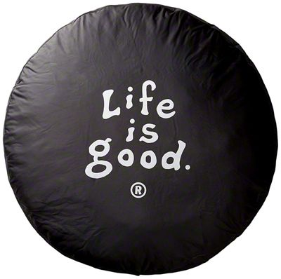 Life is Good Coin Spare Tire Cover (87-18 Jeep Wrangler YJ, TJ, JK & JL)