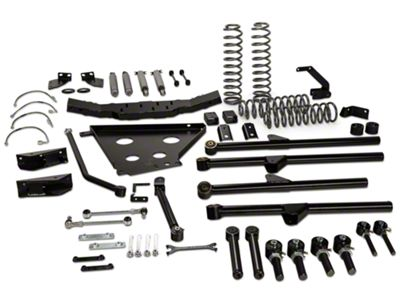 Rough Country 4 in. X-Series Long Arm Suspension Lift Kit w/ Shocks (07-11 Jeep Wrangler JK 4 Door)