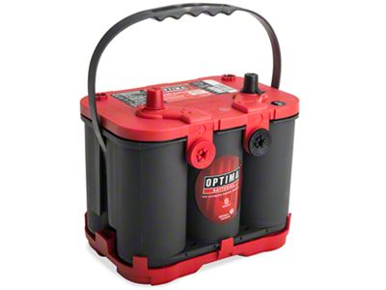 Optima Red Top Battery (87-11 Jeep Wrangler YJ, TJ & JK)