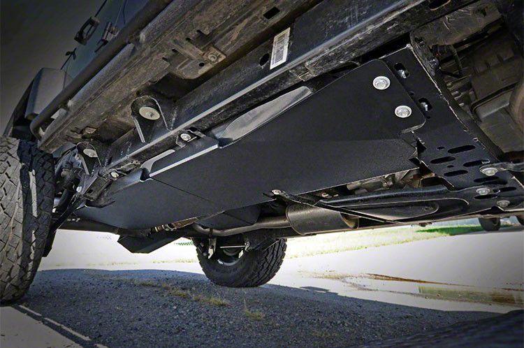 Rough Country Gas Tank Skid Plate (07-18 Jeep Wrangler JK 2 Door)