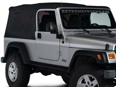 Side Stripe - Silver (97-06 Jeep Wrangler TJ)