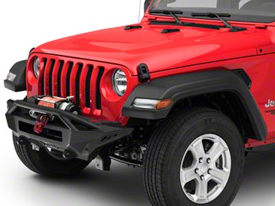 Addictive Desert Designs Stealth Fighter Top Hoop Front Bumper (2018 Jeep Wrangler JL)