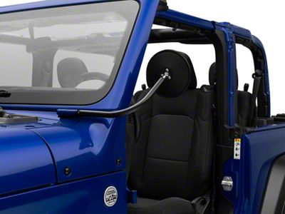 Rugged Ridge Round Trail Mirror (18-19 Jeep Wrangler JL)
