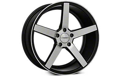 Machined Black Vossen CV3 Wheels 2005-2009