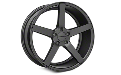 Matte Graphite Vossen CV3 Wheels 2005-2009