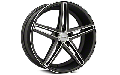 Machined Matte Graphite Vossen CV5 Wheels 2005-2009