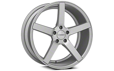 Machined Silver Vossen CV3 Wheels 2005-2009