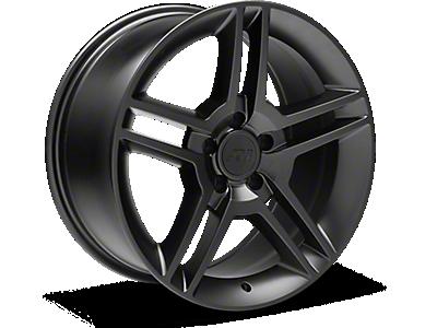 Matte Black 2010 Style GT500 Wheels<br />('05-'09 Mustang)