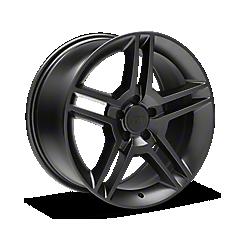 Matte Black 2010 GT500 Style Wheels 1994-1998