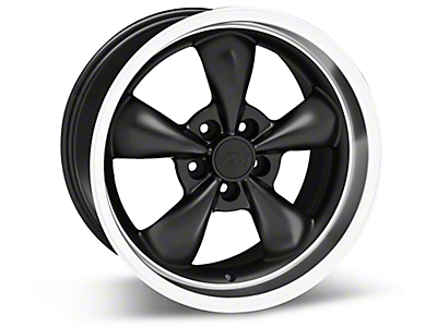 Matte Black Bullitt Wheels<br />('79-'93 Mustang)