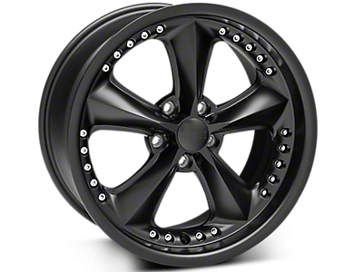 Matte Black Foose Nitrous Wheels 2005-2009