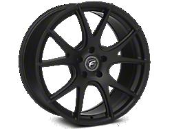 Matte Black Forgestar CF5V Monoblock Wheels<br />('05-'09 Mustang)