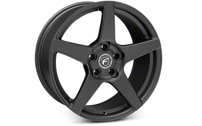 Matte Black Forgestar CF5 Wheels 2005-2009