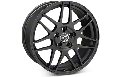 Matte Black Forgestar F14 Wheels 2005-2009