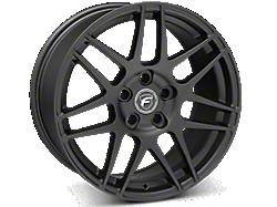 Matte Black Forgestar F14 Wheels<br />('05-'09 Mustang)