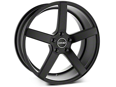 Matte Black MMD 551C Wheels<br />('15-'20 Mustang)