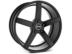 Matte Black MMD 551C Wheels<br />('05-'09 Mustang)