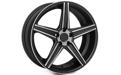 Matte Black Niche Apex Wheels 2005-2009