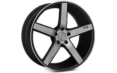 Matte Black Niche Milan Wheels 2010-2014
