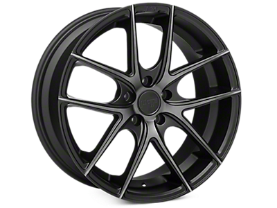 Matte Black Niche Targa Wheels<br />('15-'20 Mustang)
