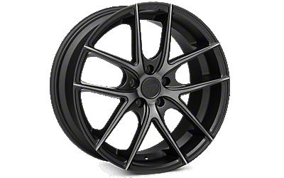 Matte Black Niche Targa Wheels 2010-2014