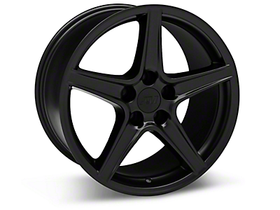 Matte Black Saleen Style Wheels<br />('10-'14 Mustang)