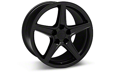 Matte Black Saleen Style Wheels 2005-2009