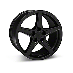 Matte Black Saleen Style Wheels 2005-2009