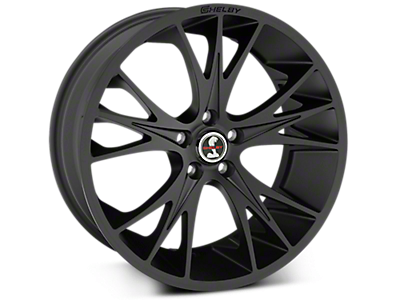 Matte Black Shelby CS1 Wheels<br />('10-'14 Mustang)