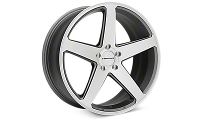 Matte Gray Machined Concavo CW-5 Wheels 2005-2009