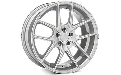 Matte Silver Niche Targa Wheels 2010-2014