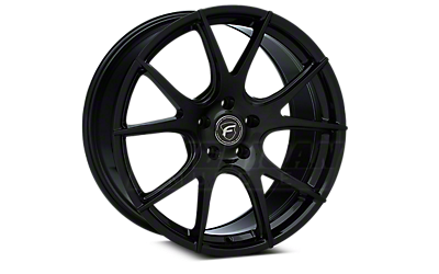 Piano Black Forgestar CF5V Monoblock Wheels 2005-2009