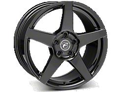 Piano Black Forgestar CF5 Wheels<br />('15-'21 Mustang)