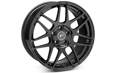 Piano Black Forgestar F14 Wheels 2005-2009